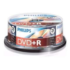 Philips DVD+R 4.7 GB Spindel 25 Stuks