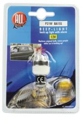 All Ride EA-21513 Achteruitrijlamp met Alarm