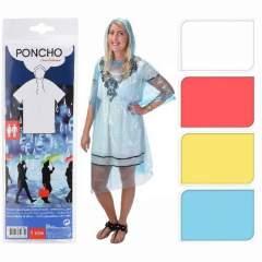 Poncho Festival Volwassene Assorti