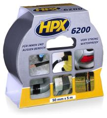 HPX CB5005 Pantsertape Zilver 50mmx5m