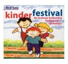 Kinder Festival 4CD Box Hollandse Liedjes en Sprookjes