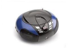 Lenco SCD37 Draagbare Stereo Radio CD MP3 Blauw