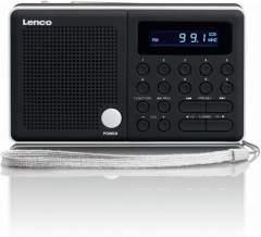 Lenco MPR-034 Draagbare Radio Zwart