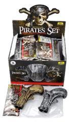 Piraten Pistool Klein 2 stuks