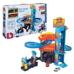 Burago 1:43 Garage Incl, 2 Car