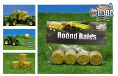 Kids Globe Farming Hooibalen Rond 4 stuks