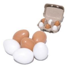 Simply for Kids Zes Eieren in een Doosje