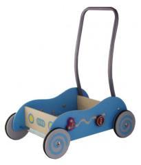Simply for Kids 598532 Houten Baby Duwwagen Blauw
