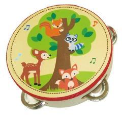Simply for Kids Houten Tamboerijn Bosdieren
