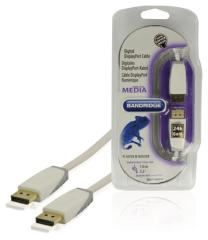 Bandridge Bbm37000w10 Digitale Displayport Kabel 1,00 M