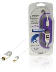 Bandridge Bbm37400w10 Mini Displayport Adapter Kabel  1,0 M