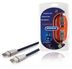 Bandridge Bcl2105 Displayport-kabel 5,0 M