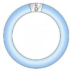 Philips UV-Lamp Blauw 368 Nm 22 Watt Rond