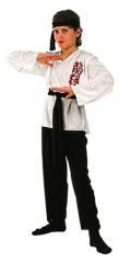 Clown Kinderkostuum Karate 7-9 jaar