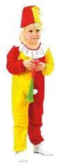 Clown Kinderkostuum Clowntje 3-4 jaar