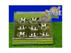 Kids Globe Farming Koeien 1:87 8 stuks