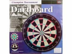 Dartboard Bristle 45x3,8cm Assorti